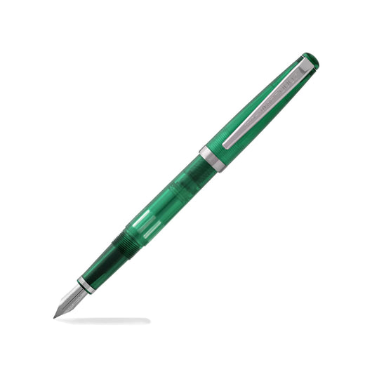 Noodlers Ink Fountain Pen in Max Emerald - Flex Nib Fountain Pen