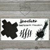 Noodler's Wardens Bottled Ink in Bad Black Moccasin - 3oz Bottled Ink