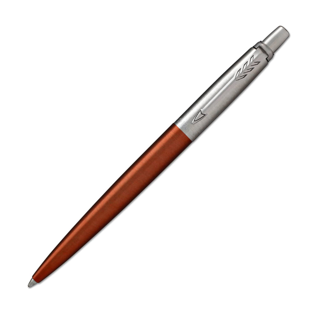 Parker Jotter Ballpoint Pen in Chelsea Orange with Chrome Trim Ballpoint Pen