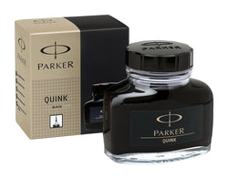 Parker Quink Bottled Ink in Permanent Black - 2oz Bottled Ink