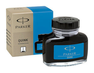 Parker Quink Bottled Ink in Washable Blue - 2oz Bottled Ink