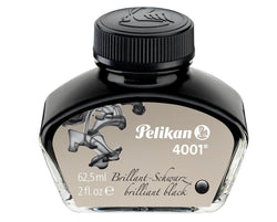 Pelikan 4001 Bottled Ink in Brilliant Black - 62.5 mL Bottled Ink