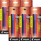 Pilot Frixion Erasable Gel Refill in Multi-Color Fine Point - 7 Sets of 3 Gel Refill