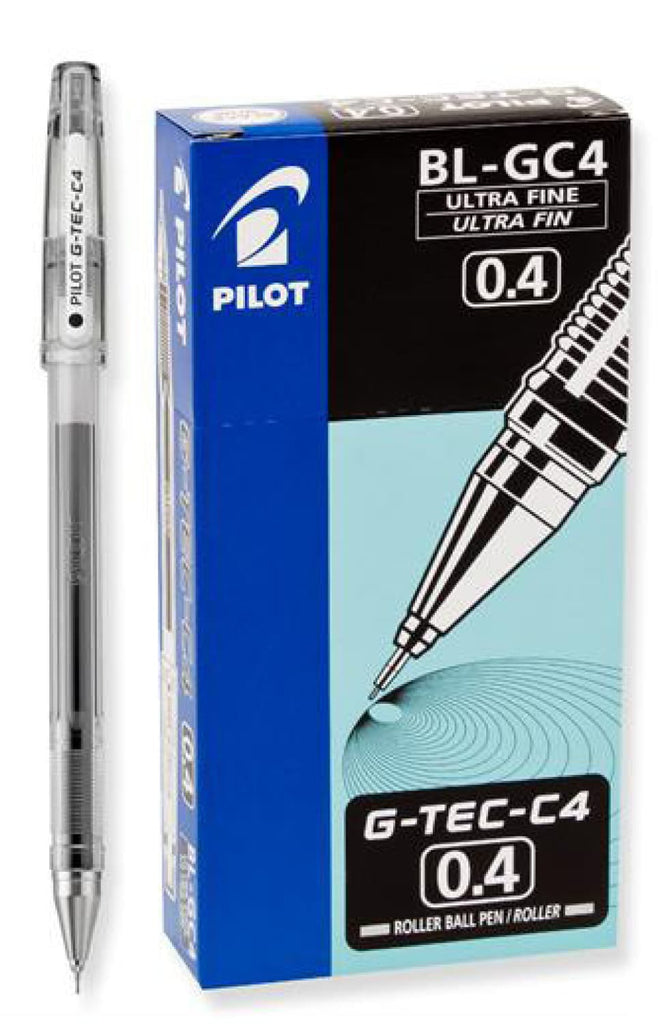 Pilot G-Tec-C Gel Pen in Black Ultra Fine Point Ballpoint Pen