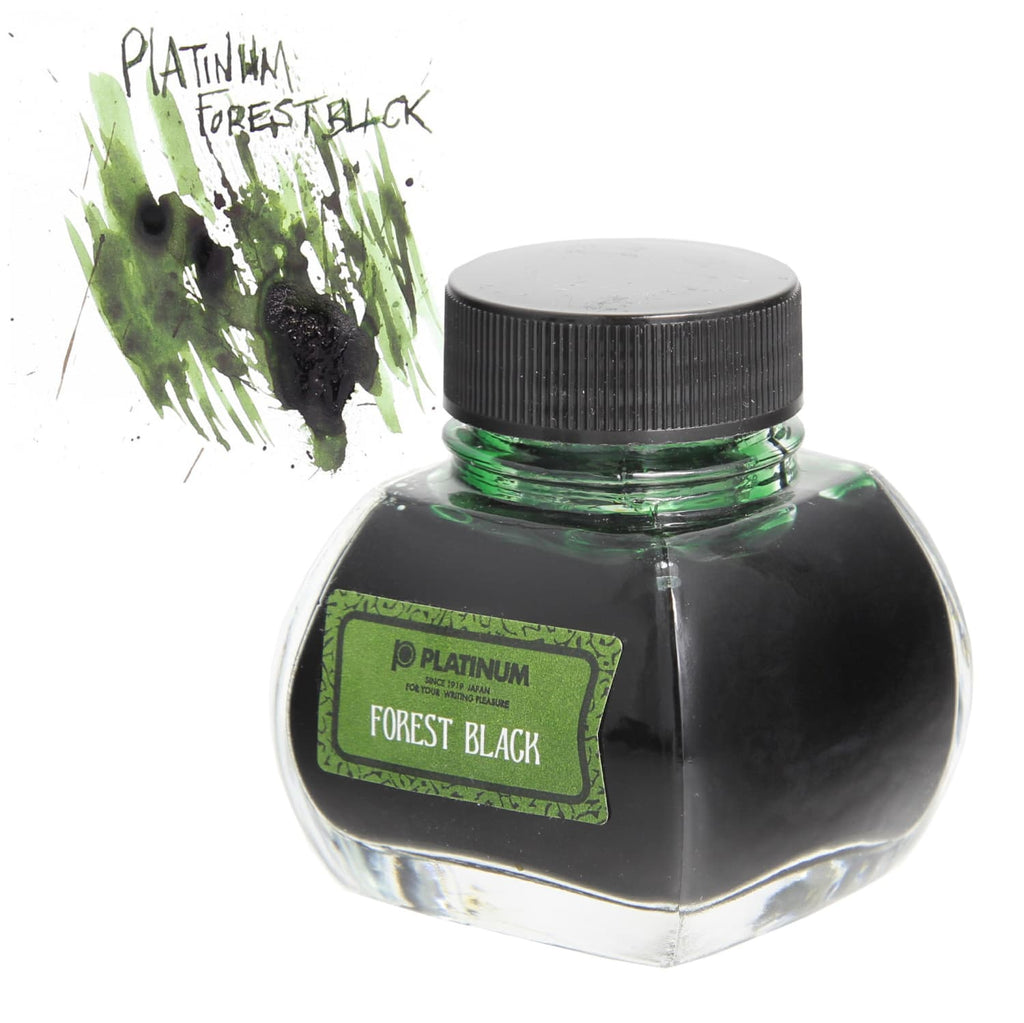 Platinum Classic Bottled Ink in Forest Black - 60 mL Bottled Ink
