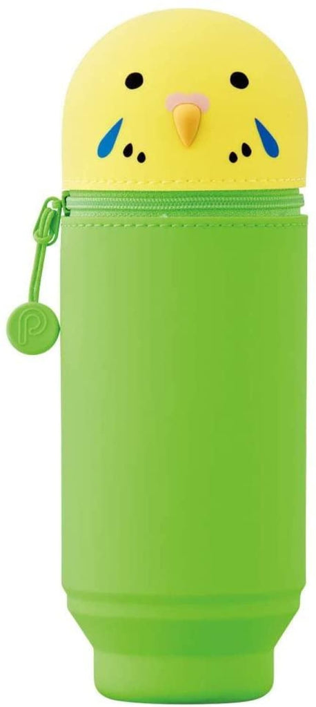Punilabo Pen Case in Green/Yellow Parakeet Pen Case