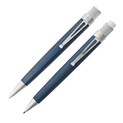 Retro 51 Tornado Rollerball Pen & Mechanical Pencil Set in Ice Blue Rollerball Pen