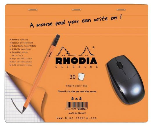 Rhodia Boutique Mouse Pad - 7.5 x 9 Accessory