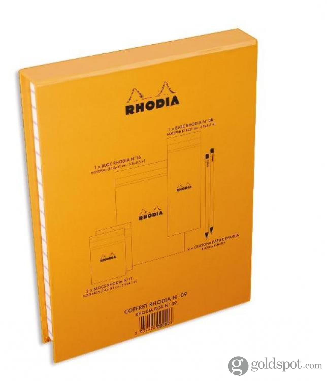 4 Assorted Notepads in an Executive Desk Set Box Rhodia Essential Treasure Box