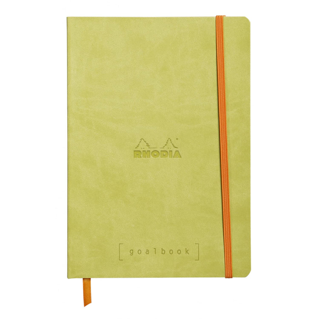 Rhodia Goalbook Dot Grid Notebook in Anise - 5.75 x 8.25 Notebook