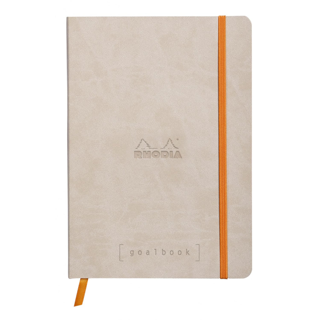 Rhodia Goalbook Dot Grid Notebook in Beige - 5.75 x 8.25 Notebook