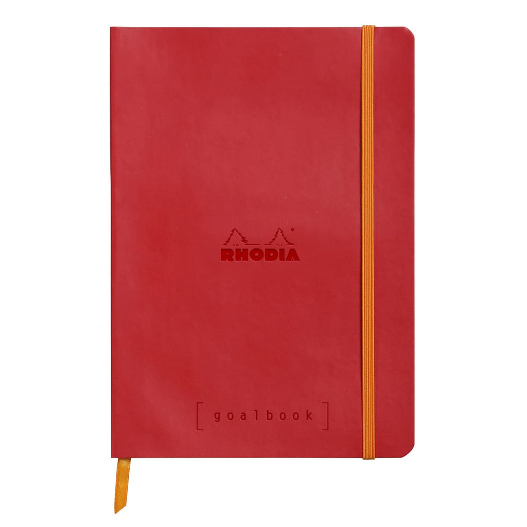 Rhodia Goalbook Dot Grid Notebook in Poppy - 5.75 x 8.25 Notebook