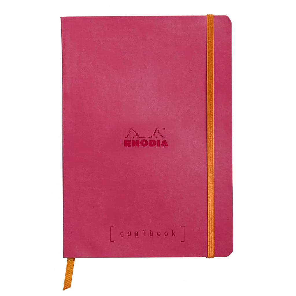 Rhodia Goalbook Dot Grid Notebook in Raspberry - 5.75 x 8.25 Notebook