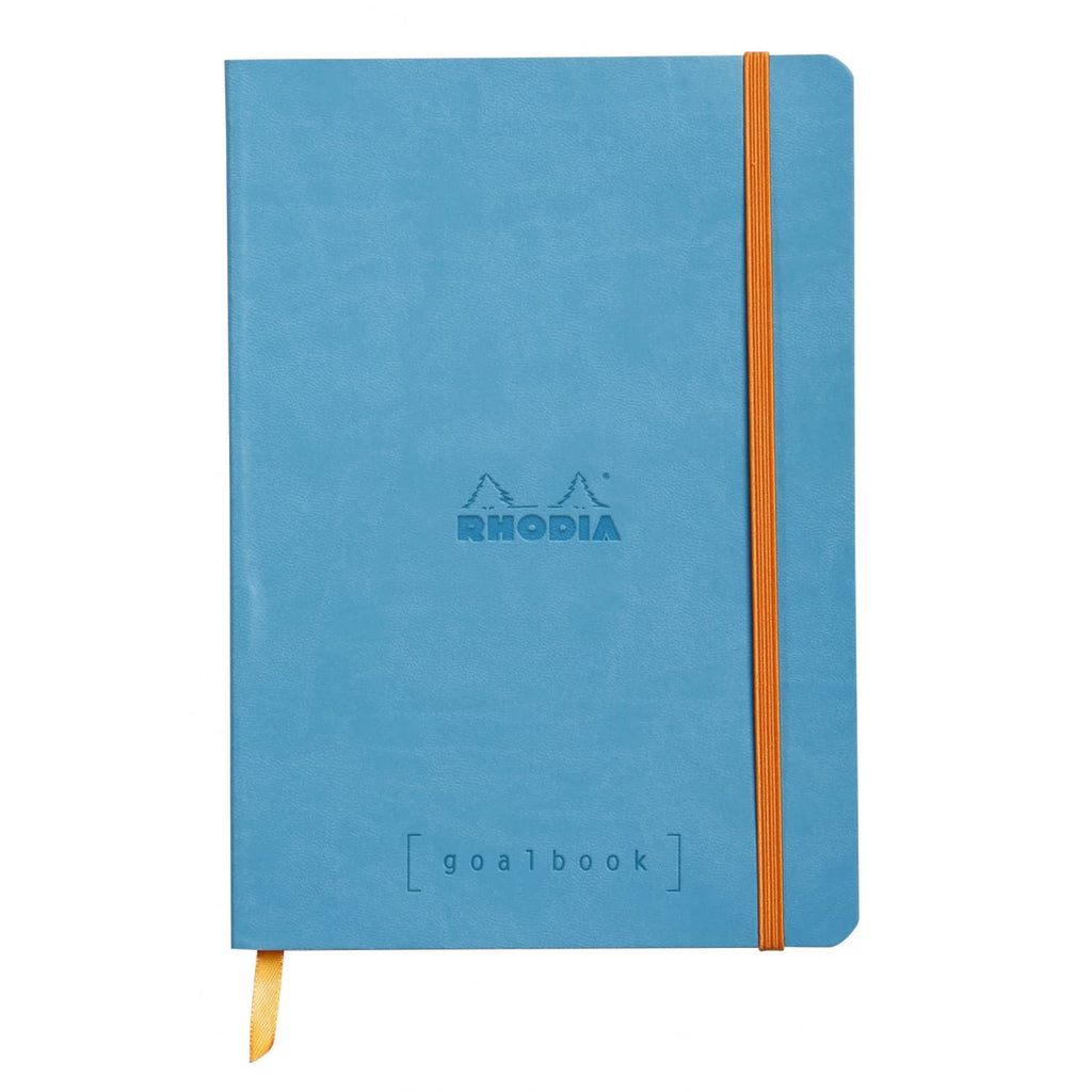 Rhodia Goalbook Dot Grid Notebook in Turquoise - 5.75 x 8.25 Notebook