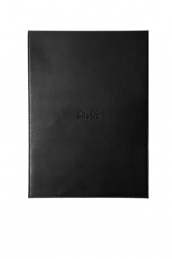 Rhodia Pad Holder Black And Graph Pad With Pen Loop 8.25 X 11.75 Notebook