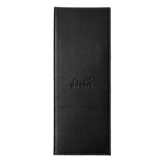 Rhodia Pad Holder in Black with Graph Pad with Pen Loop - 3 x 8.25 Notebook