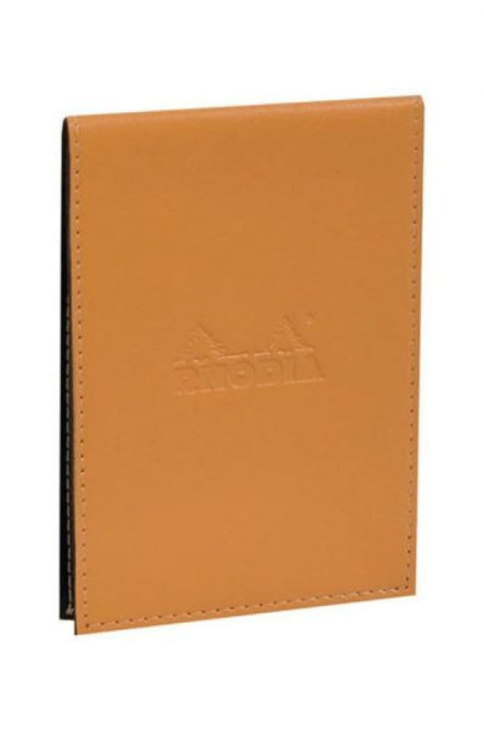 Rhodia Pad Holder in Orange with Graph Pad with Pen Loop - 3.75 x 5.25 Notebook