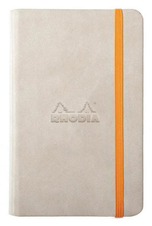 Rhodia Rhodiarama Webbies Lined Paper Notebook in Beige - 3.5 x 5.5 Notebook