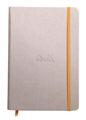 Rhodia Rhodiarama Webbies Lined Paper Notebook in Beige - 5.5 x 8.25 Notebook