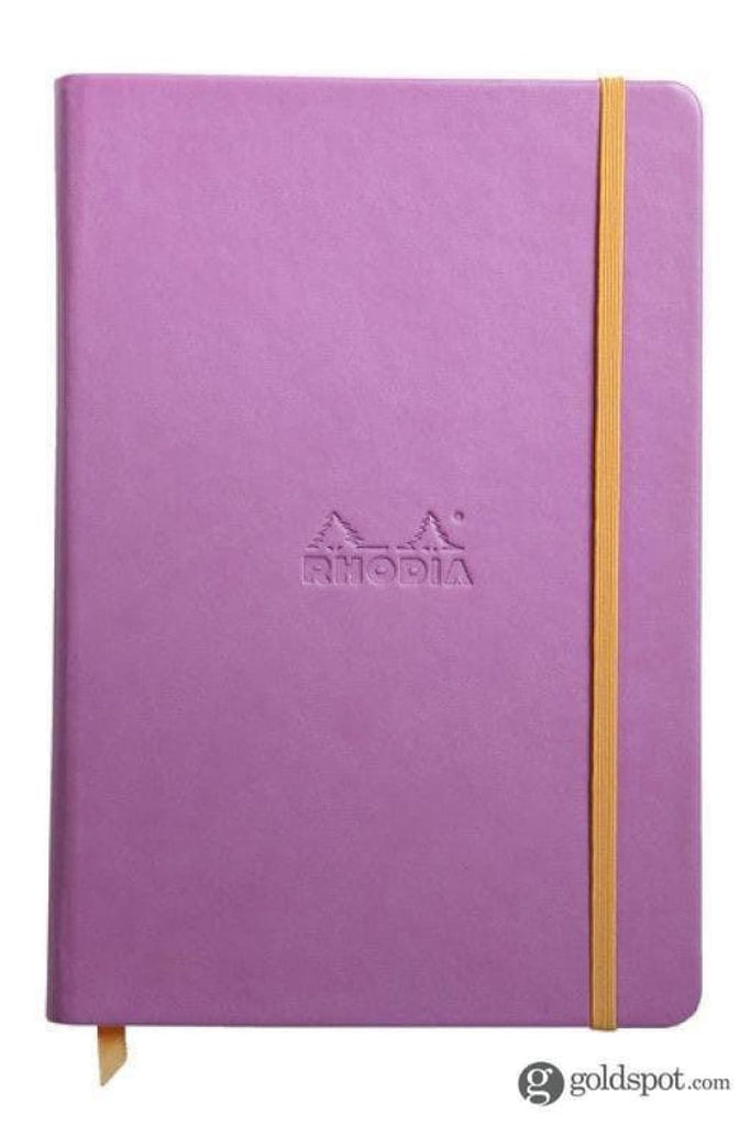 Rhodia Rhodiarama Webbies Lined Paper Notebook in Lilac - 5.5 x 8.25 Notebook
