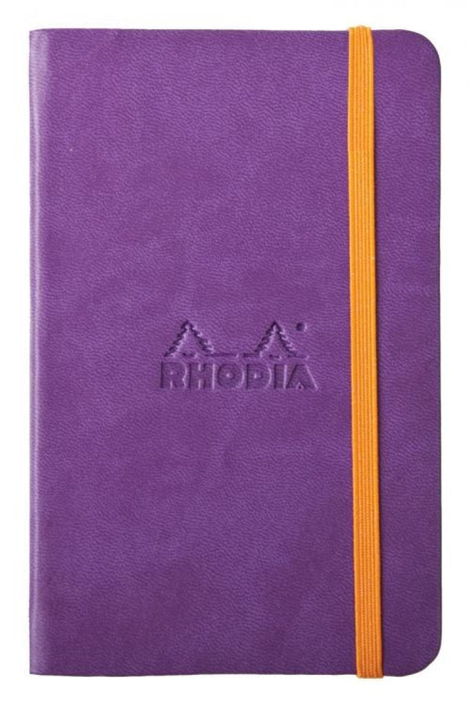 Rhodia Rhodiarama Webbies Lined Paper Notebook in Purple - 3.5 x 5.5 Notebook