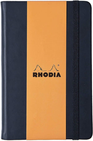 Rhodia Webnotebook Blank Paper in Black - 3.5 x 5.5 Notebook