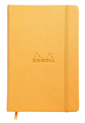 Rhodia Webnotebook Lined Paper in Orange - 5.5 x 8.25 Notebook