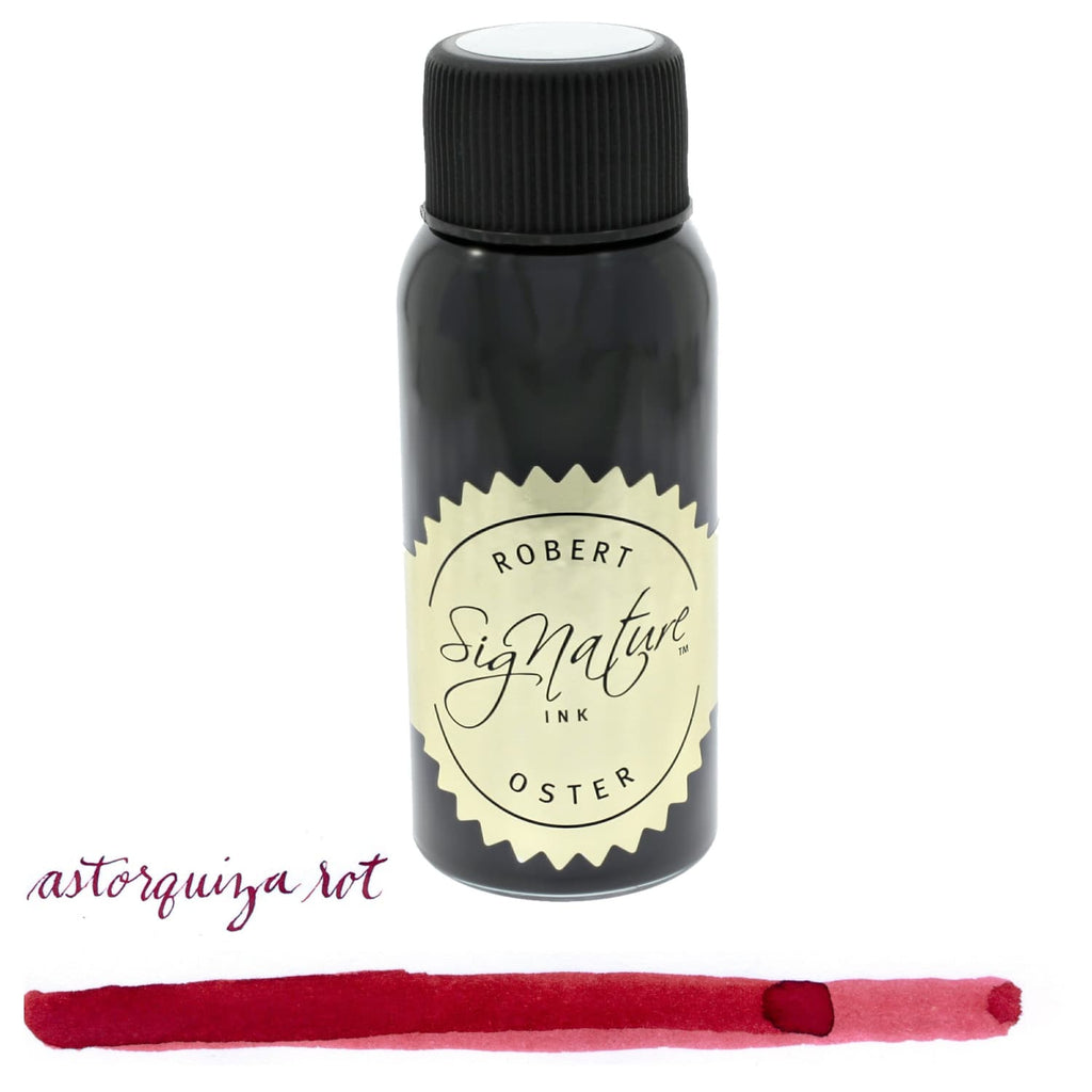 Robert Oster Signature Bottled Ink in Astorquiza-Rot (Red) - 50 mL Bottled Ink