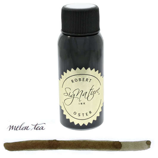Robert Oster Bottled Ink in Melon Tea (Brown) - 50 mL Bottled Ink