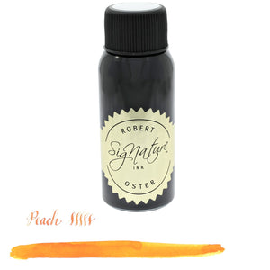 Robert Oster Bottled Ink in Peach (Orange) - 50 mL Bottled Ink