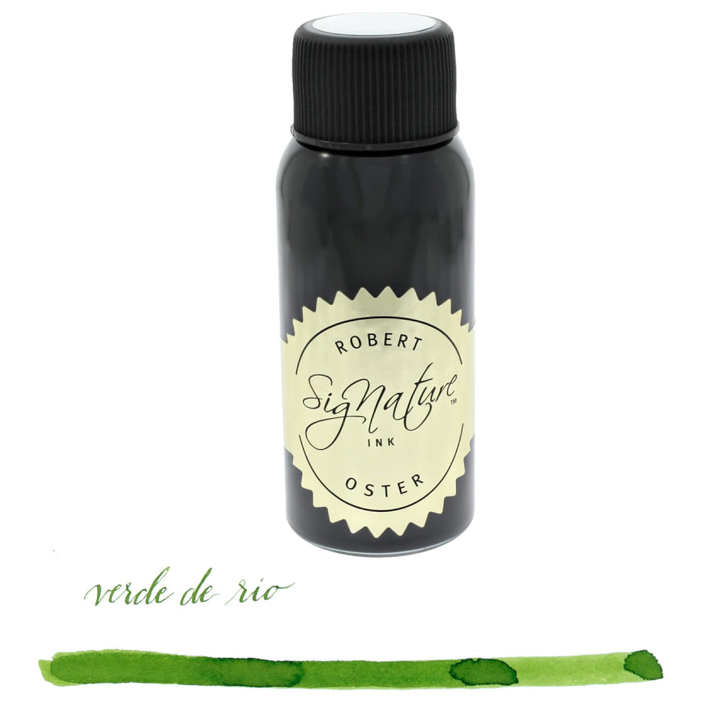 Robert Oster Bottled Ink in Verde de Rio - 50 mL Bottled Ink