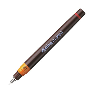 Rotring Isograph Technical Drawing Pen - 0.20mm Drawing Pen