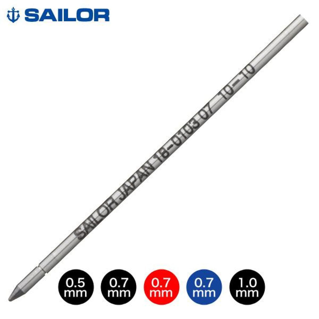 Sailor Ballpoint Pen Refill in Blue - 0.7mm Ballpoint Pen Refill