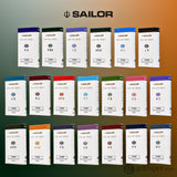 Sailor Four Seasons Shikiori Ink Cartridges in Tokiwa-Matsu (Pine Green) Fountain Pen Cartridges