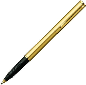 Sheaffer Agio Rollerball Pen in Angle Brushed 22k Gold Rollerball Pen