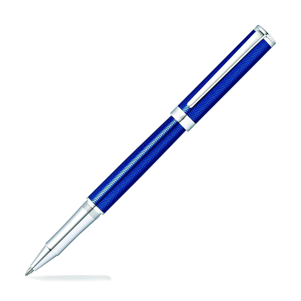 Sheaffer Intensity Rollerball Pen in Engraved Translucent Blue Lacquer Rollerball Pen