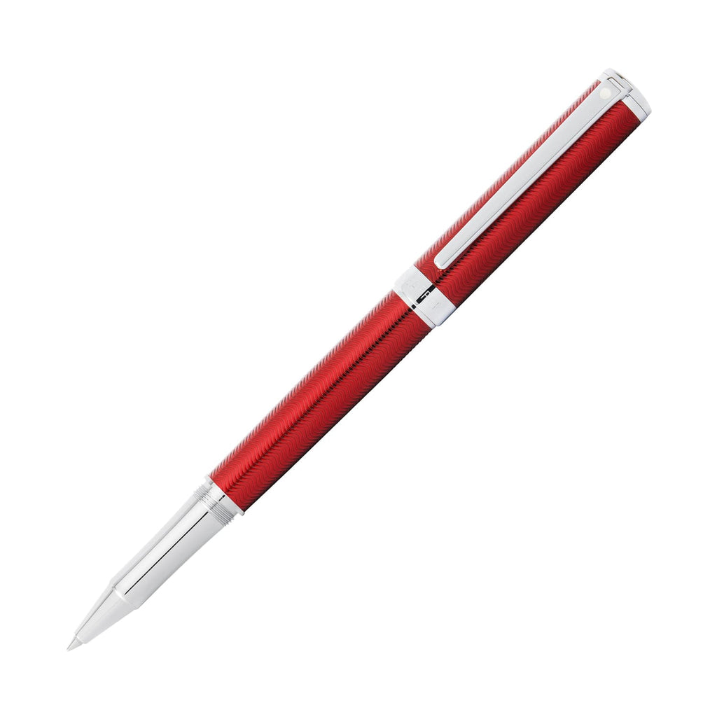 Sheaffer Intensity Rollerball Pen in Engraved Translucent Red Rollerball Pen