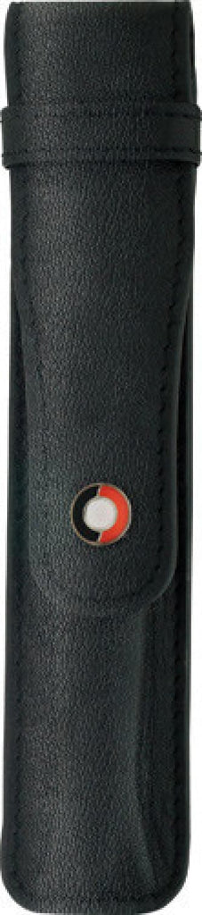 Sheaffer Leather Single Pen Pouch in Black Pen Case