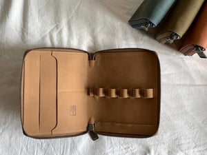Shibui 5 Pen Case in Desert Tan Pen Case