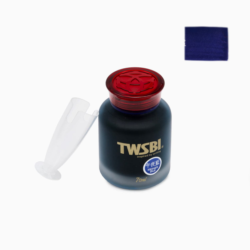 TWSBI Bottled Ink in Midnight Blue - 70ml Bottled Ink