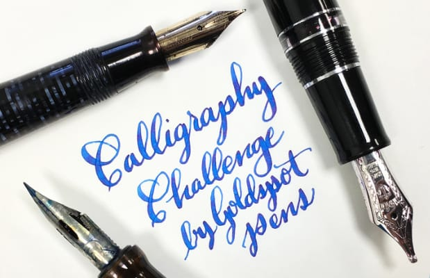 Goldspot Pens Calligraphy Challenge