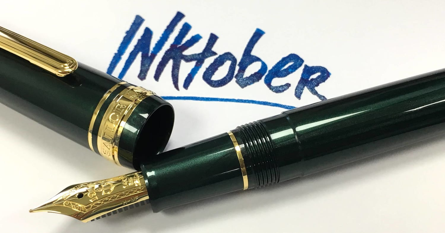 Inktober 2019 Writing Prompts and Pen Giveaway