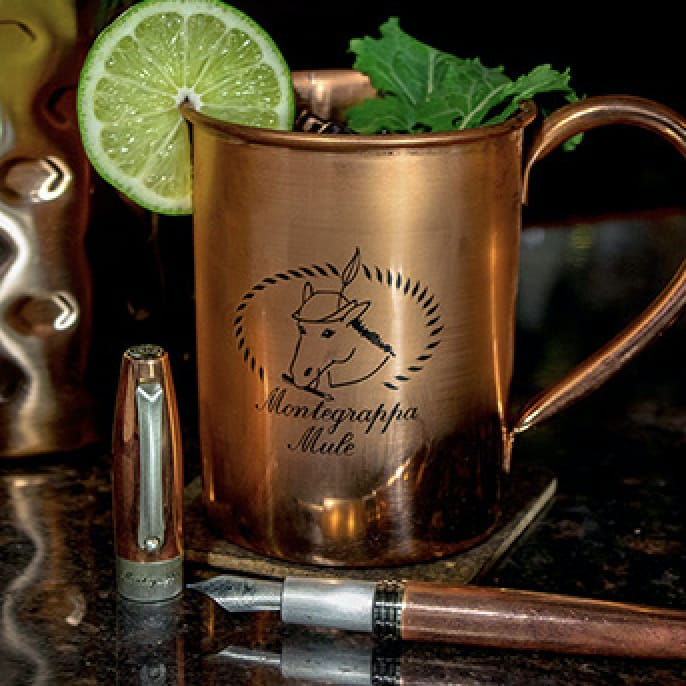 Montegrappa Fortuna Mule Copper