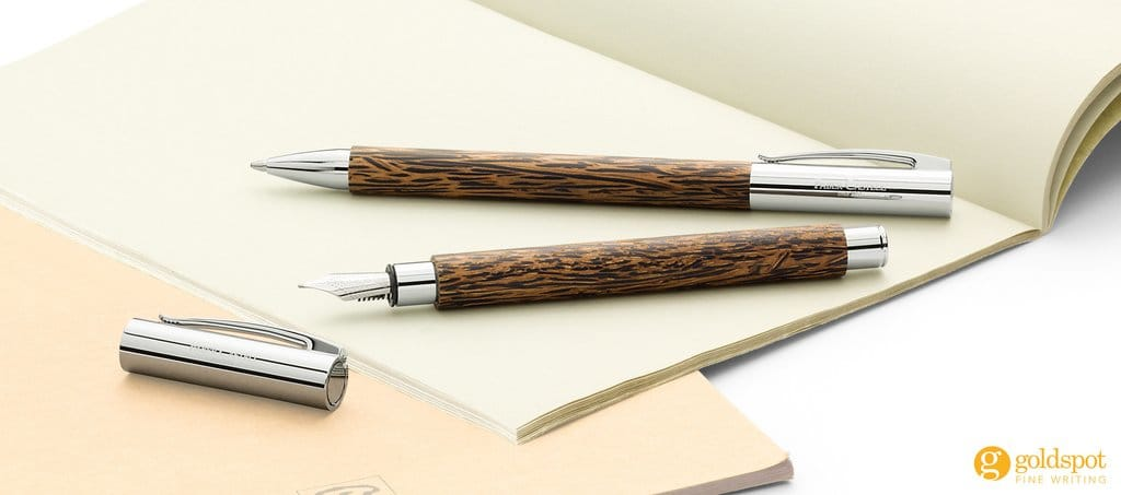 Faber Castell Ambition coconut wood pens