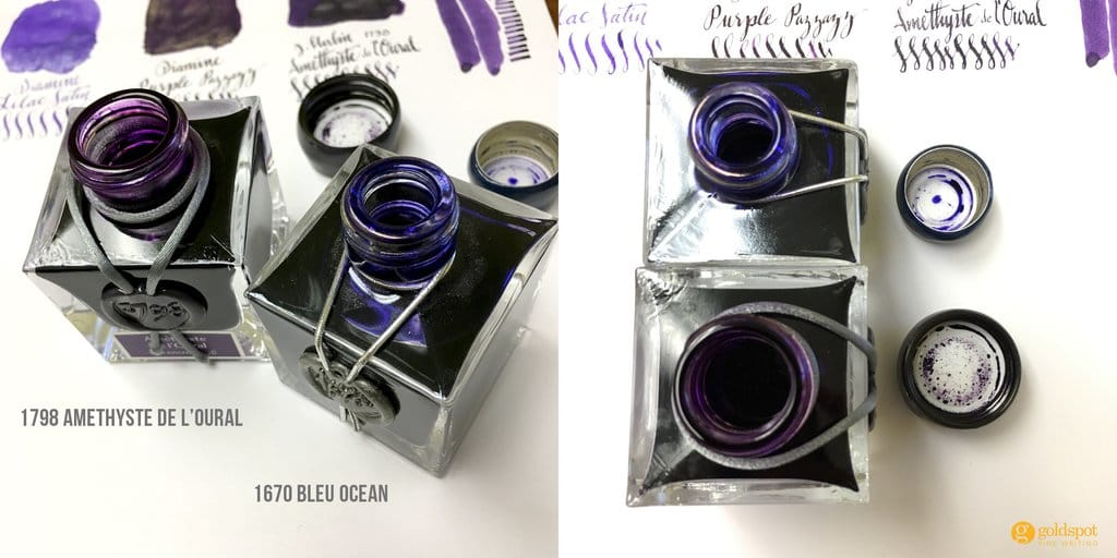 j herbin anniversary ink bottle mouth opening comparison