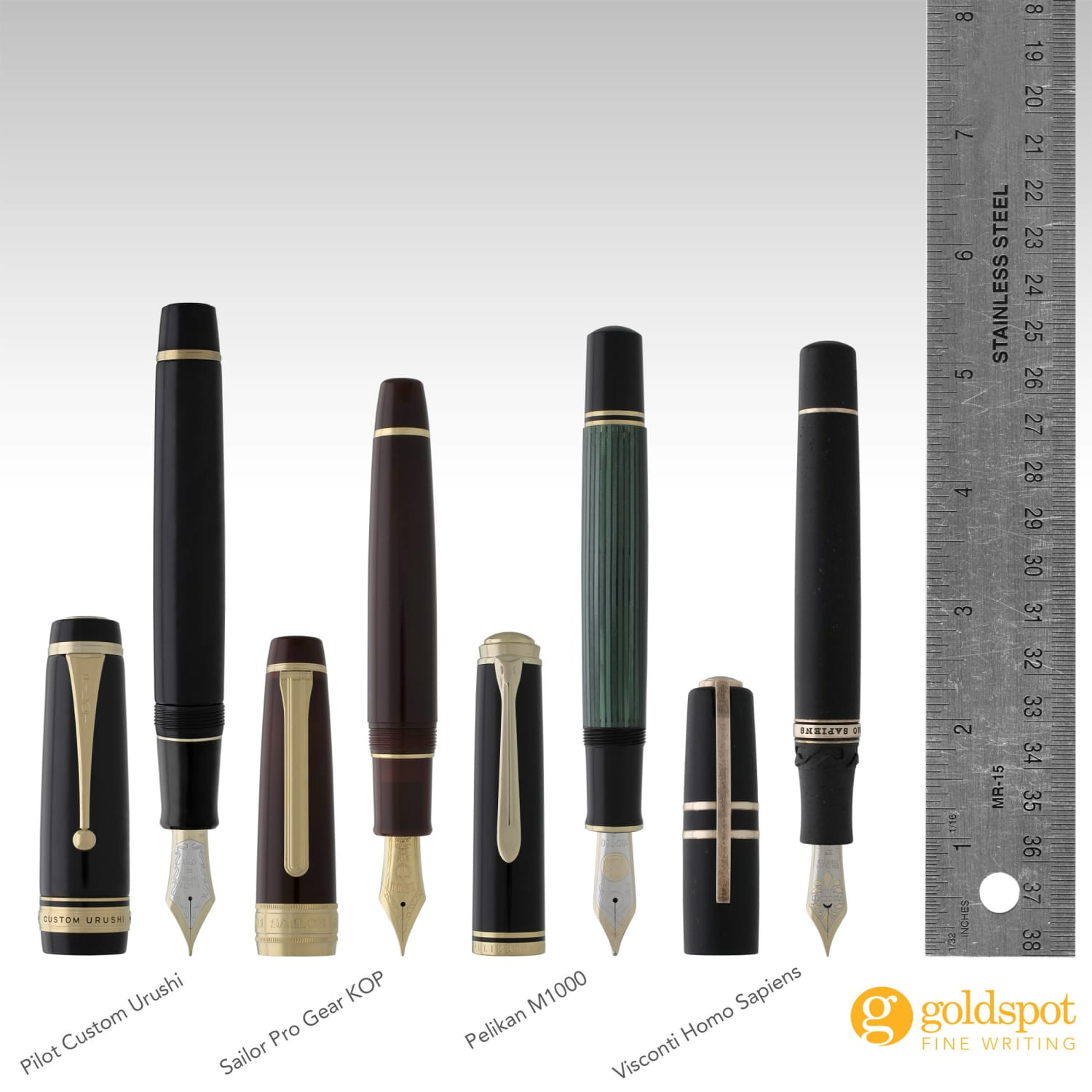 Clash of the Titans - Comparing the Biggest and Baddest Fountain Pens