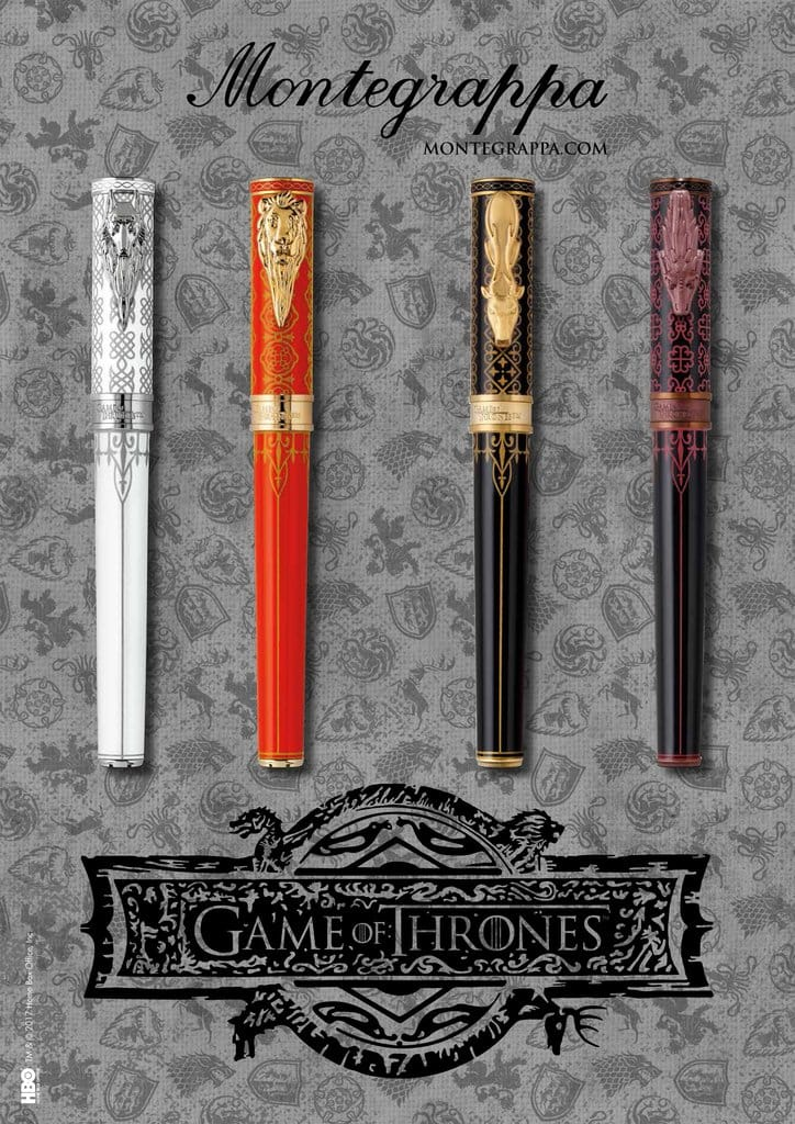 Montegrappa Game of Thrones Collection