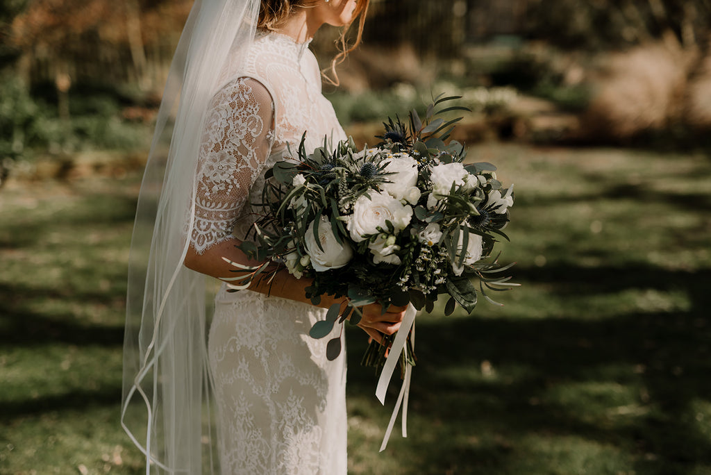 Catherine Deane | Real Bride Heather | Bridgette Gown