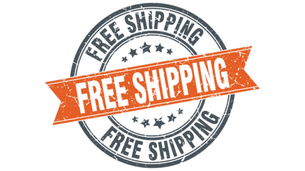 Announcing FREE SHIPPING on Everything - ALL THE TIME!