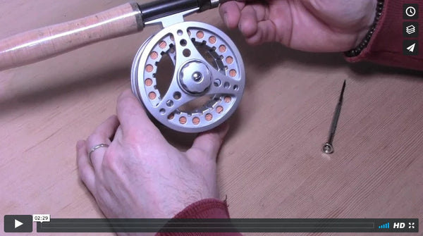 Instructional Video: How to Convert Right Hand Reel to Left Hand